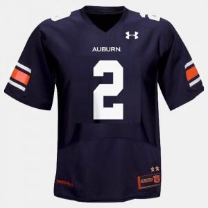 Auburn Tigers #2 Youth Cam Newton Jersey Blue University College Football 545545-990