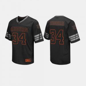 AU #34 Men Jersey Black Stitch College Football 377066-624