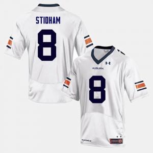 Auburn Tigers #8 Mens Jarrett Stidham Jersey White College College Football 185630-356