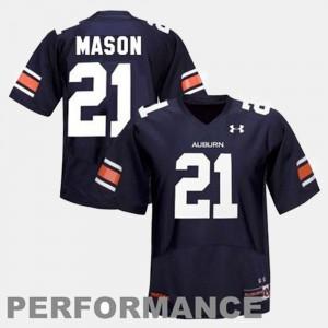 Auburn University #21 Youth Tre Mason Jersey Blue College Football Stitched 699148-149