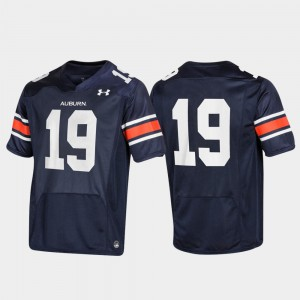Tigers #19 Mens Jersey Navy Embroidery Replica 881000-945