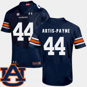 Auburn #44 For Men Cameron Artis-Payne Jersey Navy SEC Patch Replica College Football Official 351163-789