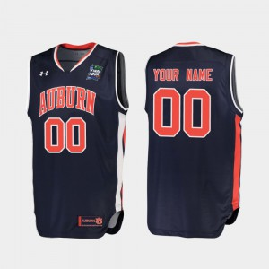 AU #00 For Men Customized Jersey Navy Embroidery Replica 2019 Final-Four 349334-897