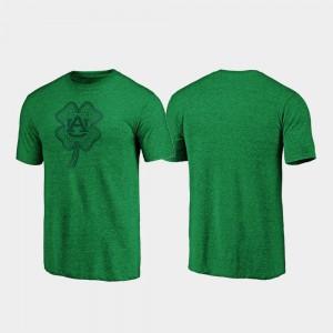 AU Men T-Shirt Green Celtic Charm Tri-Blend St. Patrick's Day Stitch 243296-874