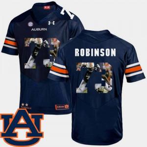 Tigers #73 Men Greg Robinson Jersey Navy NCAA Pictorial Fashion Football 361119-349
