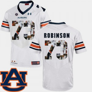 AU #73 Men's Greg Robinson Jersey White Football Pictorial Fashion Embroidery 582651-548