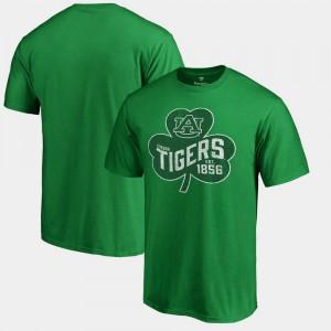 Auburn University Men's T-Shirt Kelly Green Paddy's Pride Big & Tall St. Patrick's Day Official 407601-229