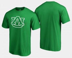 AU Men T-Shirt Kelly Green White Logo Big & Tall St. Patrick's Day Stitch 647087-717