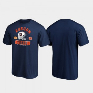 Tigers For Men T-Shirt Navy Player 2020 Outback Bowl Bound Spike 758738-437