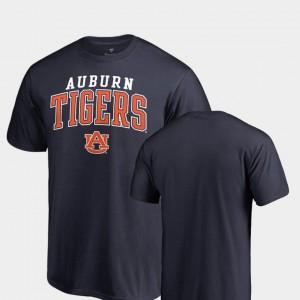 Auburn University For Men T-Shirt Navy Player Square Up 875576-323