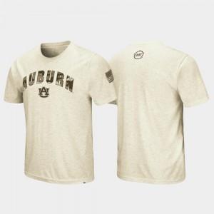 AU Men T-Shirt Oatmeal Official OHT Military Appreciation Desert Camo 226984-792